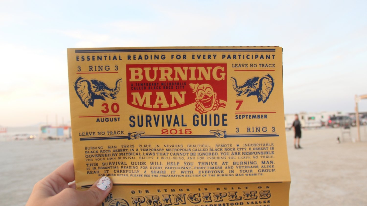 BURNING MAN GUIDE DE SURVIE