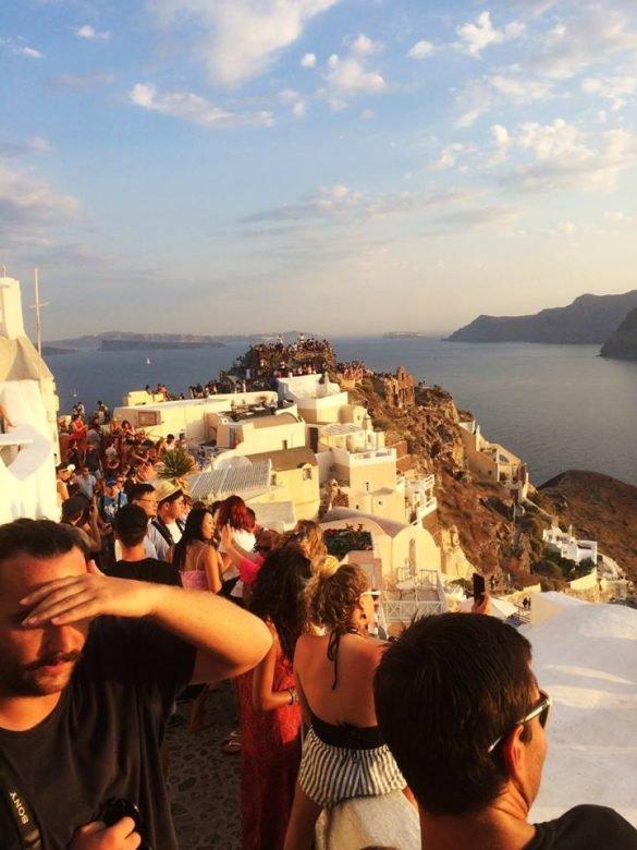 Santorin le guide guide de voyage dans les cyclades les pauline - Quelle heure le soleil se couche ...