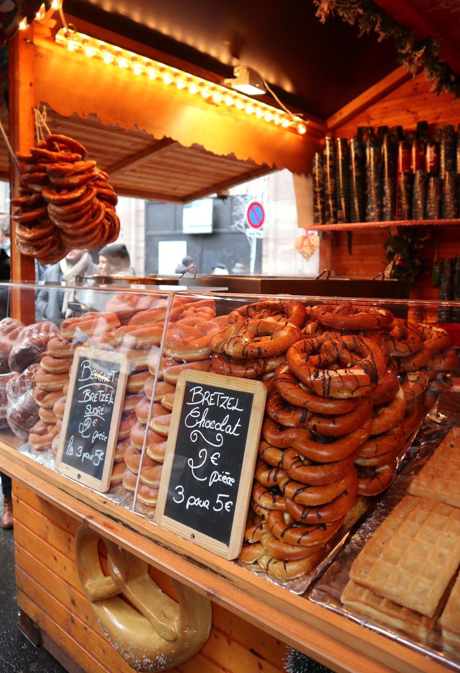 Image result for Bretzel marché de noêl